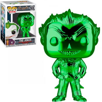 Funko Pop Heroes Batman Arkham The Joker  Green 53